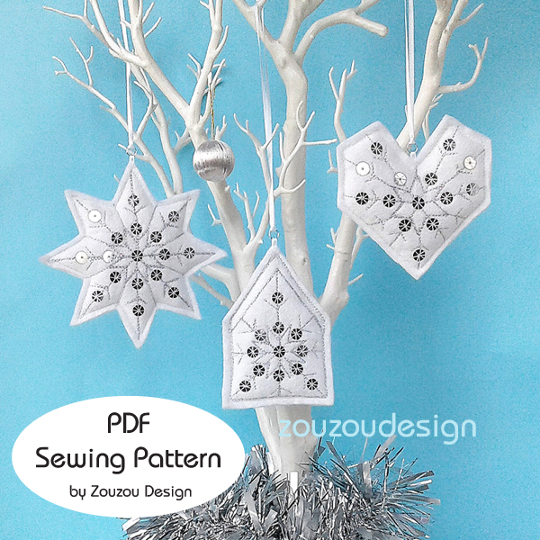 CHRISTMAS TREE OF LIFE BEADED BANNER PDF PATTERN ONLY