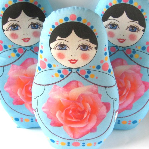 Russian doll plush kit