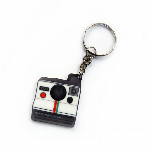 POLAROID Camera Keyring