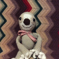 Crochet Sloth Commission for Kelly