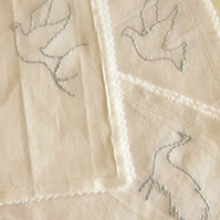 Decorative Embroidered Handkerchiefs