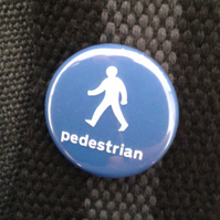 Pedestrian badge