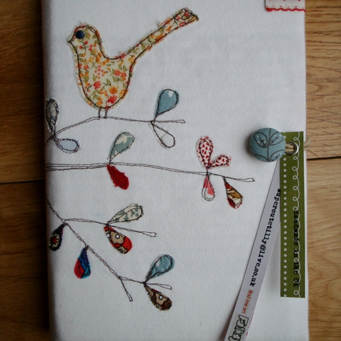 Bird on branch journal