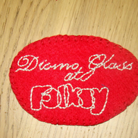 Badge for Diomo Glass