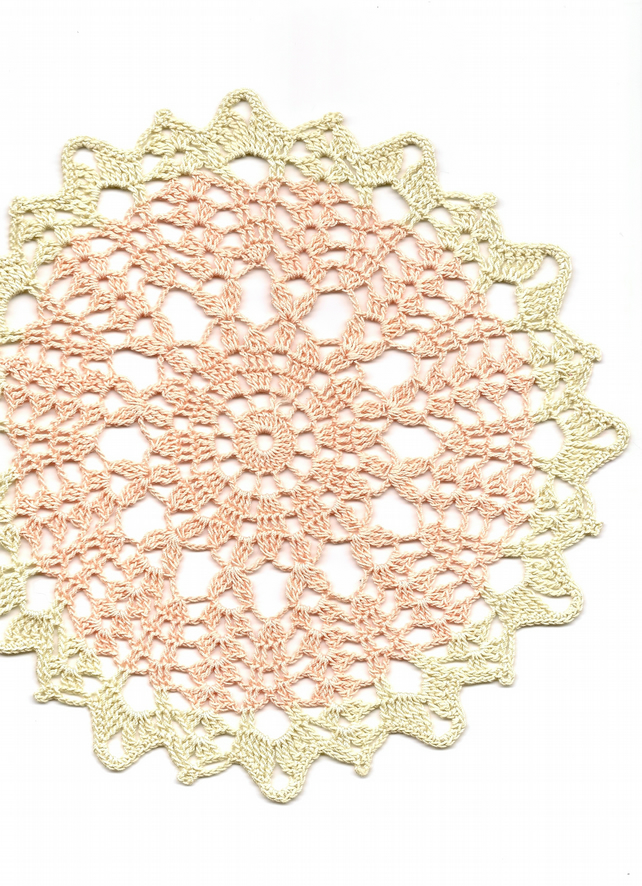 Crochet Doilies Cotton Doily Wedding & Home Decor Eco Friendly Tablecloth Napkin