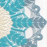 Crochet Doilies Large Cotton Doily Wedding & Home Decor Eco Friendly Tablecloth
