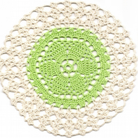Crochet Doilies Cotton Doily Kitchen & Home Decor Eco Friendly Coasters