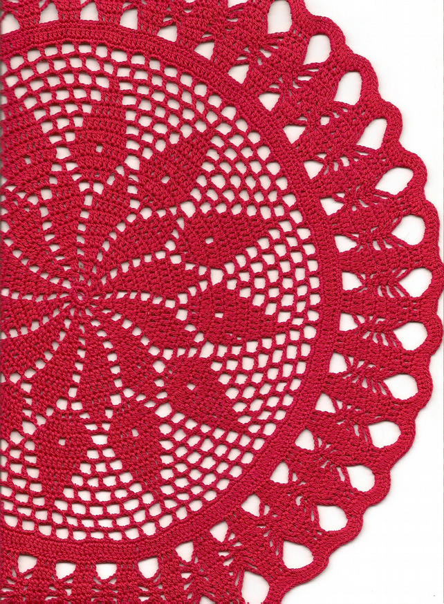 Crochet Doily Cotton Doilies Home Christmas Decor Table Decoration Textile Art