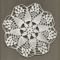 Crochet Doilies Cotton Doily Wedding Decor Table Centerpiece White Lace Napkin