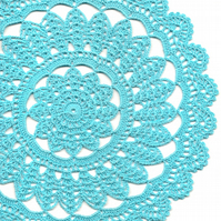 Crochet Doilies Cotton Doily Modern Home Decor Boho Style Interior Decoration
