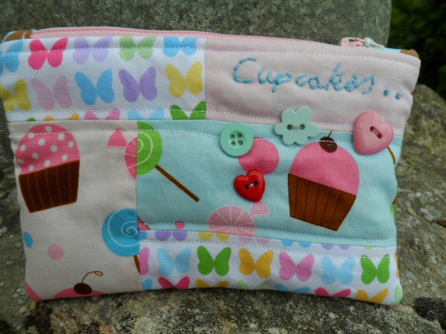 zipped pouch-pencil case
