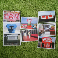 8 x I like postcards - set 2