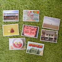 8 x I like postcards - set 3