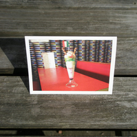 Knickerbocker Glory greetings card