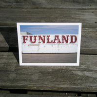 Funland greetings card