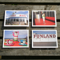 Best of British greetings cards (x4)
