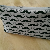 Mustache Design Toiletries Bag