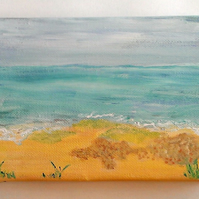 Original Seascape Acrylic On Canvas Painting