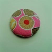 Jammy Dodger Biscuit  Fabric Badge
