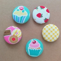Afternoon Tea Badge Set