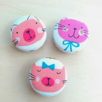 Crazy Cat Lady Magnet Set