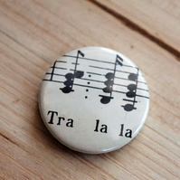 Vintage Music Badge