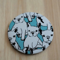 French Bulldog Puppy Pocket Mirror