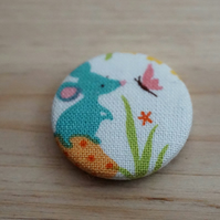 Mouse Fabric Badge