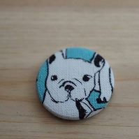 French Bulldog Fabric Badge