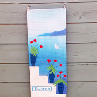 Greek Island View PDF Pattern by Quilt Routes