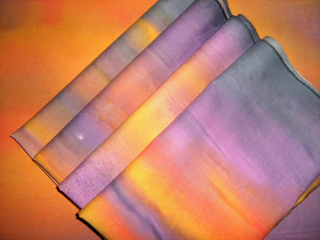 Sunset Fabric -painted to order