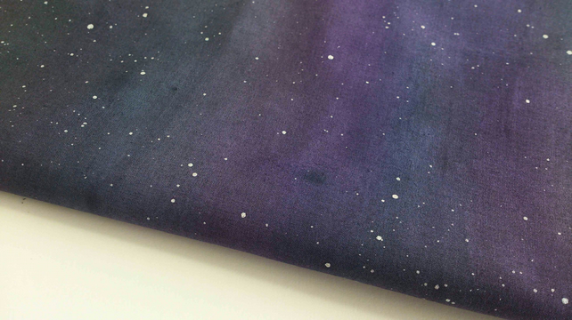 Night Sky Fabric -painted to order