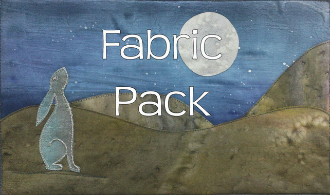 Moon Gazing Hare Fabric Pack.