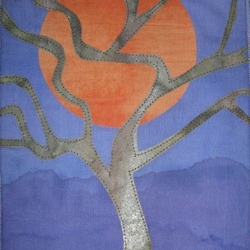 Sunset Tree Quilted Wall Hanging Kit