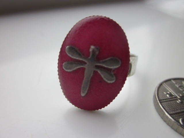 Ring Dragonfly Blush