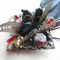 Brooch Steampunk Performance