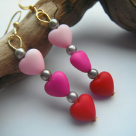 Earrings Hearts