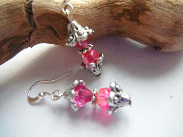 Earrings Dinky Pink
