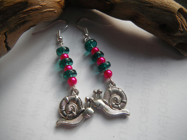 Earrings Bright Snails