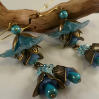 Earrings Rapture in Blue