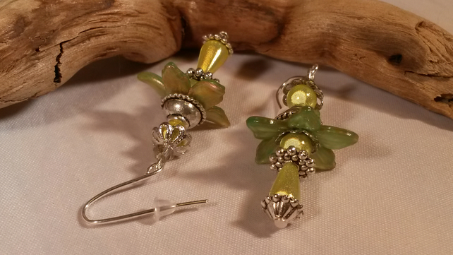 Earrings Forest Flower