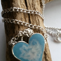 Necklace Blue Breath