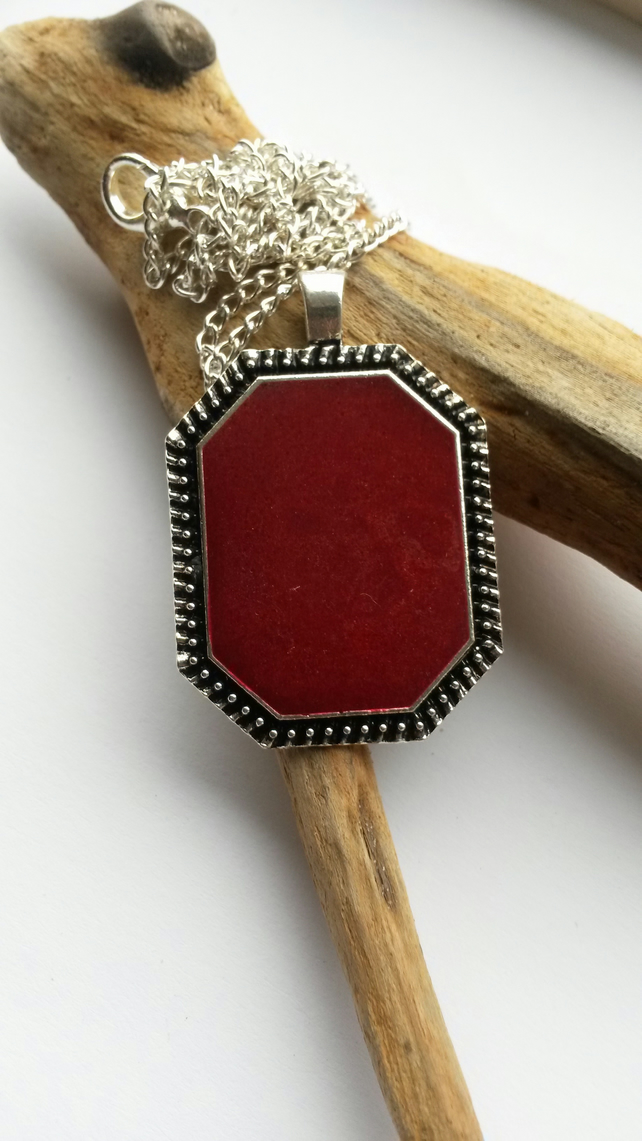 Necklace Ruby Red