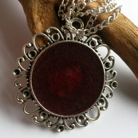 Necklace Deeply Red