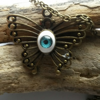 Necklace Butterfly Eye
