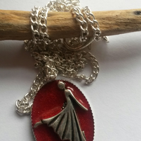 Necklace Red Dancer