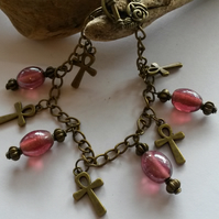 Bracelet Five Crosses