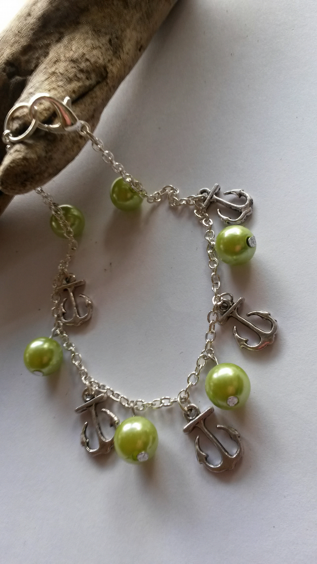 Anklet Anchors and Lime