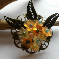 Brooch The Summer Garden