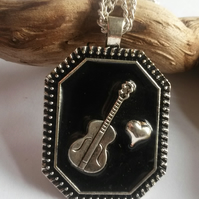 Necklace, Love Guitar